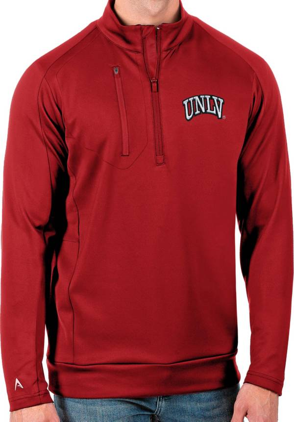 Antigua Men's UNLV Rebels Scarlet Generation Half-Zip Pullover Shirt product image