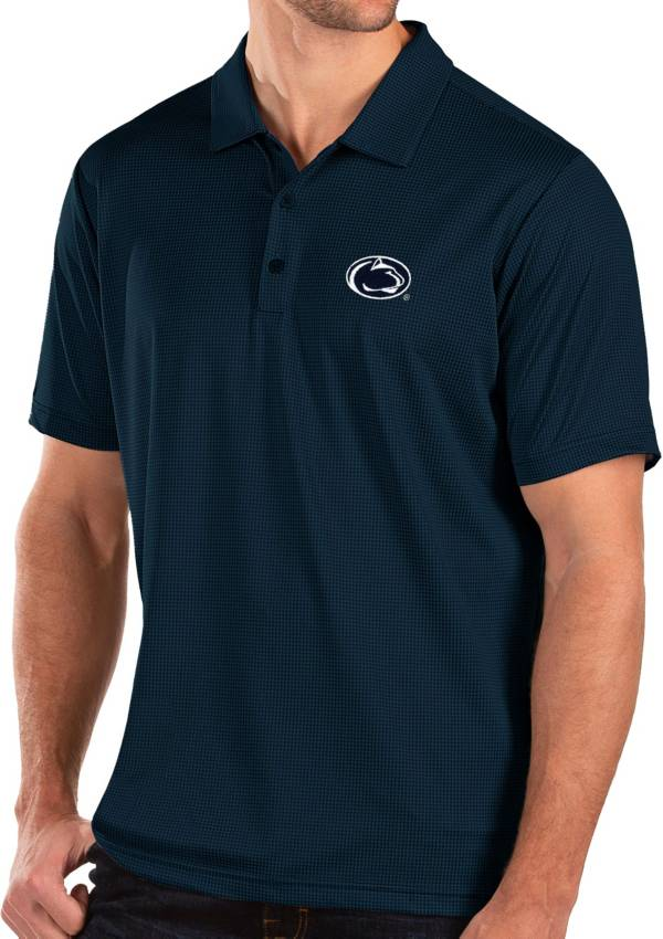 Antigua Men's Penn State Nittany Lions Blue Balance Polo product image