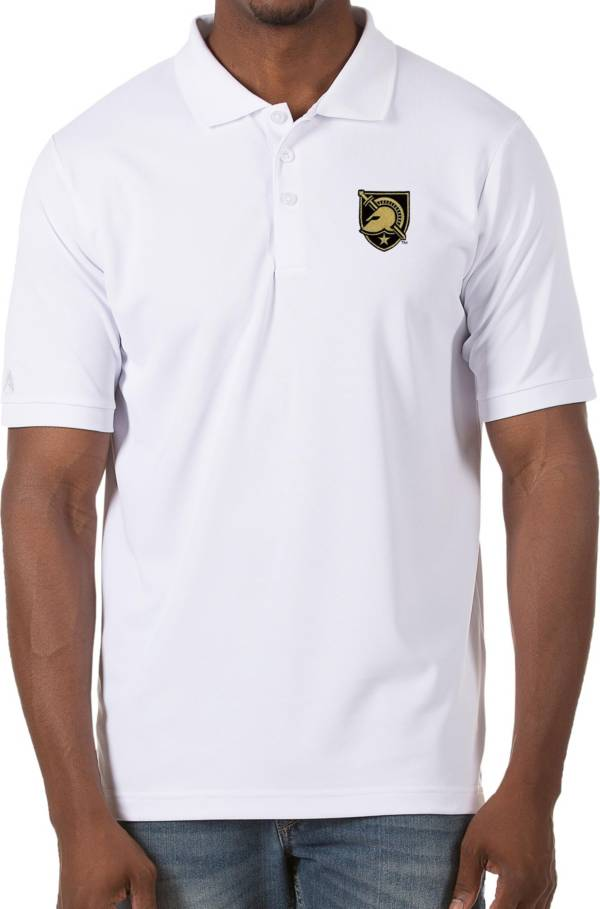 Antigua Men's Army West Point Black Knights Legacy Pique White Polo product image