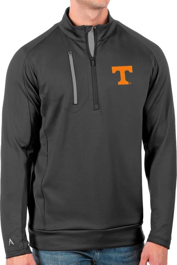 Antigua Men's Tennessee Volunteers Grey Generation Half-Zip Pullover Shirt product image