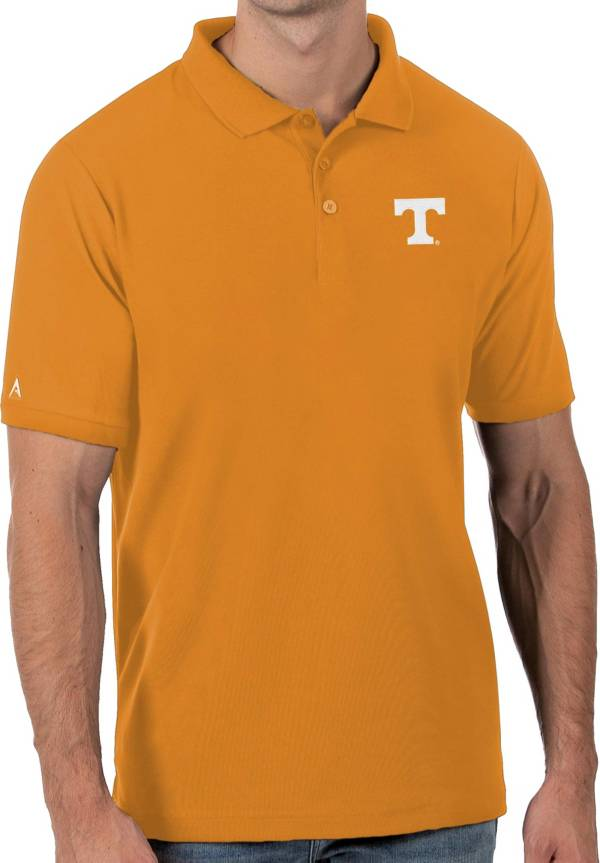 Antigua Men's Tennessee Volunteers Tennessee Orange Legacy Pique Polo product image
