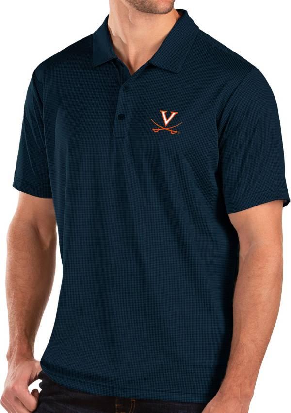 Antigua Men's Virginia Cavaliers Blue Balance Polo product image