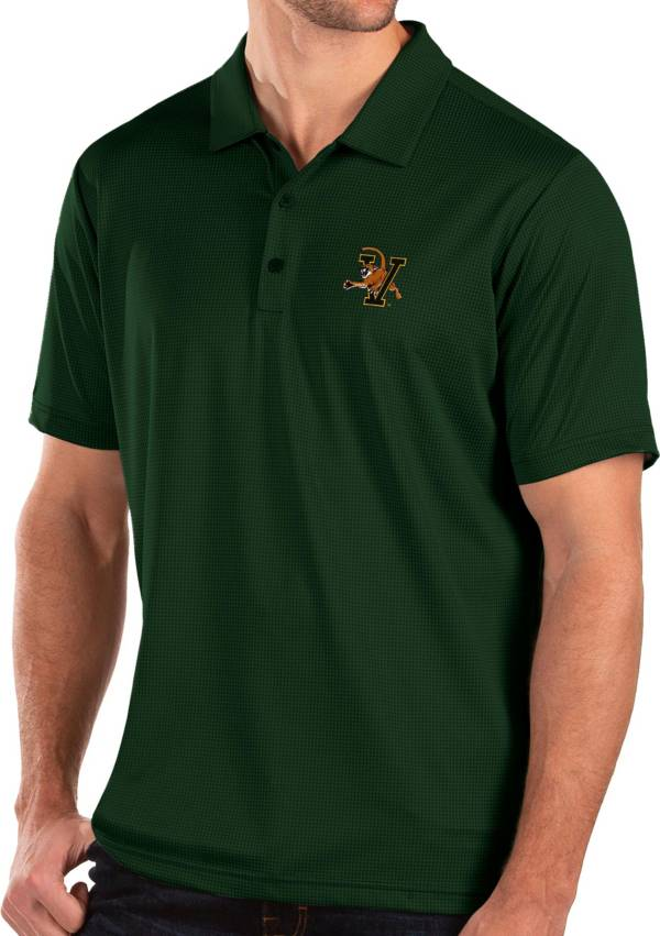 Antigua Men's Vermont Catamounts Green Balance Polo product image