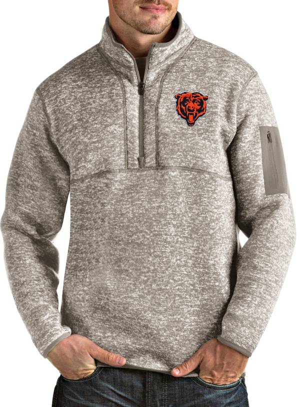 Antigua Men's Chicago Bears Oat Fortune Pullover Jacket product image