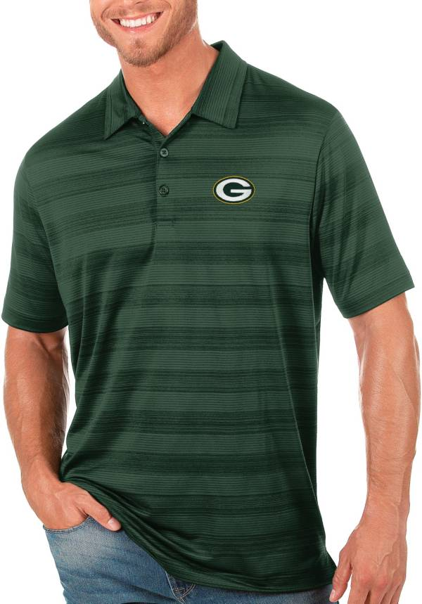 Antigua Men's Green Bay Packers Green Compass Polo product image