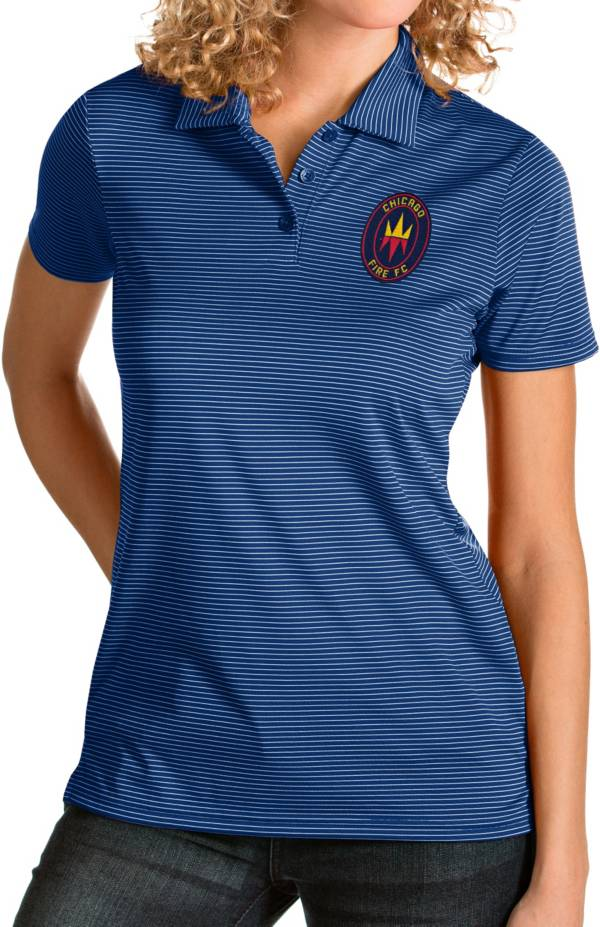 Antigua Women's Chicago Fire Navy Quest Polo product image