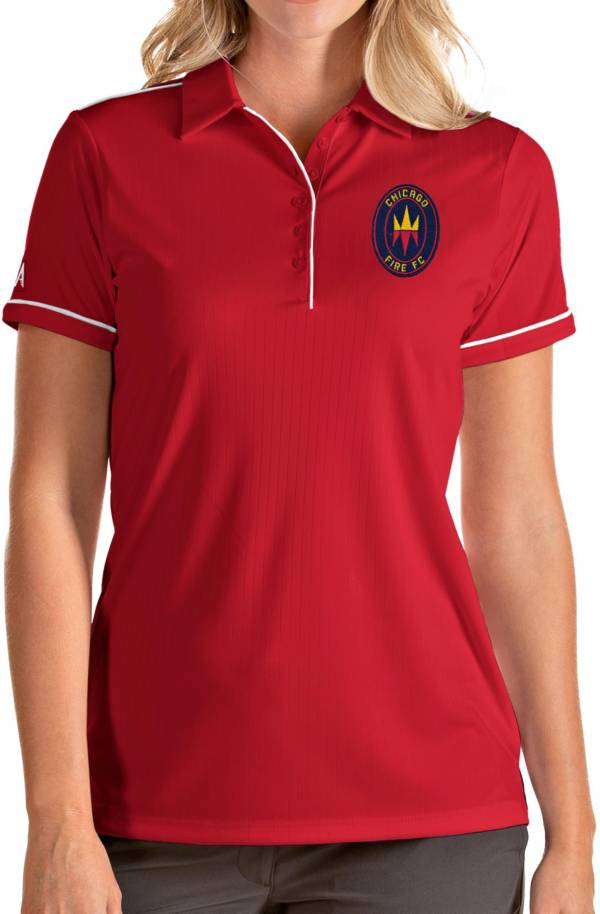 Antigua Women's Chicago Fire Red Salute Polo product image