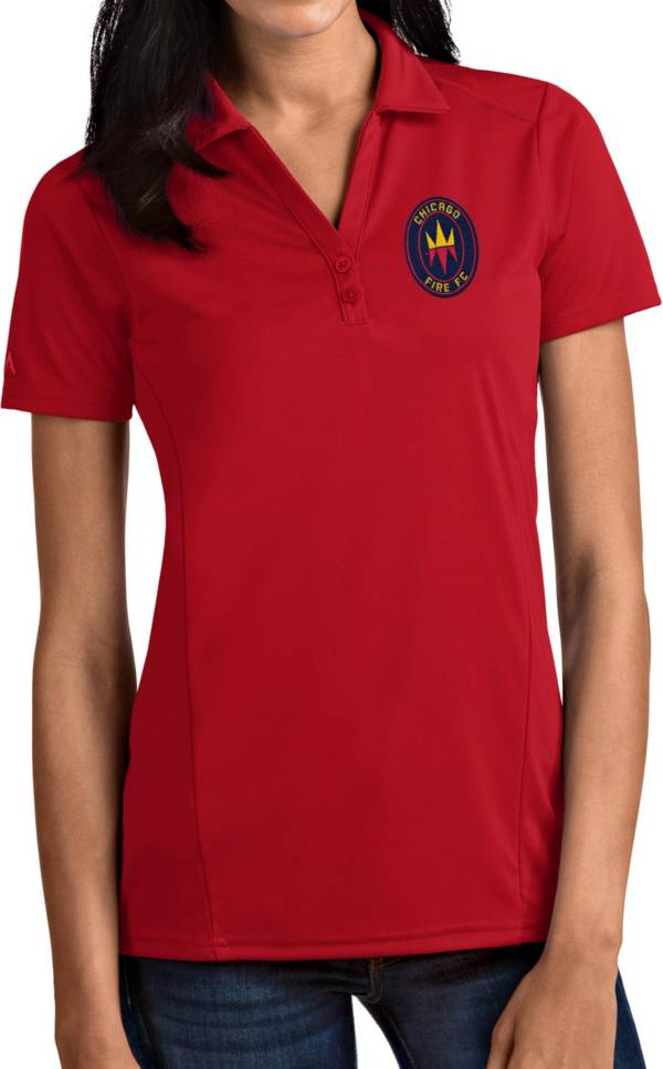 Antigua Women's Chicago Fire Red Tribute Polo product image