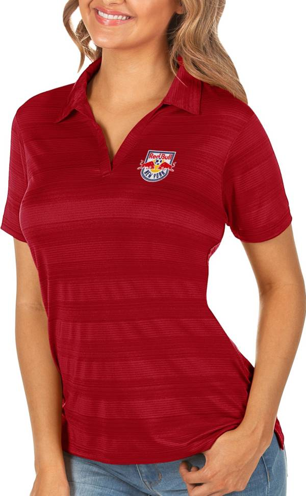 Antigua Women's New York Red Bulls Red Compass Polo product image