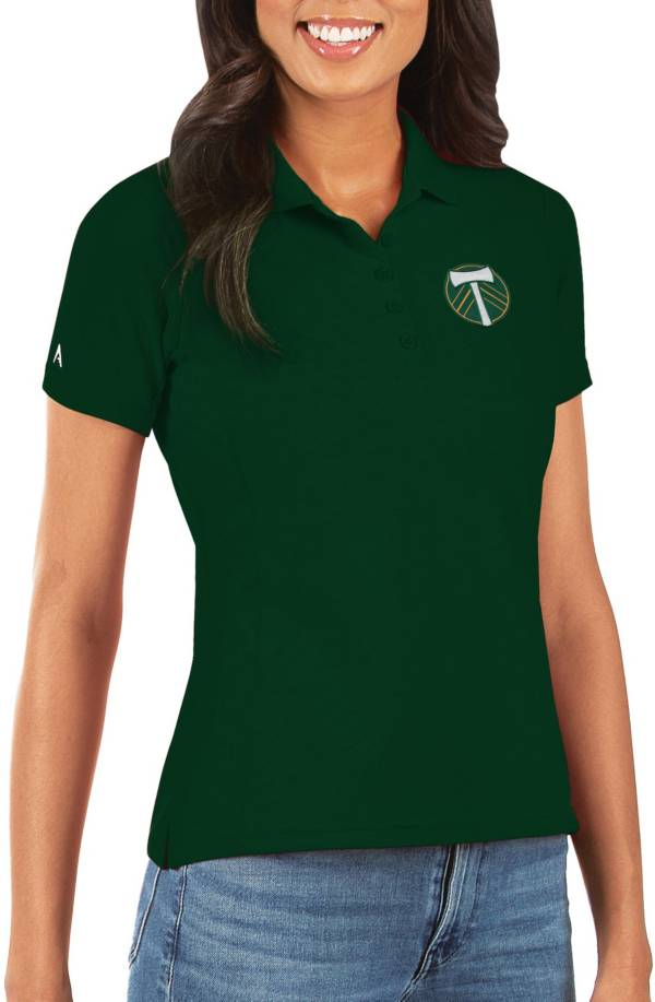 Antigua Women's Portland Timbers Green Legacy Pique Polo product image
