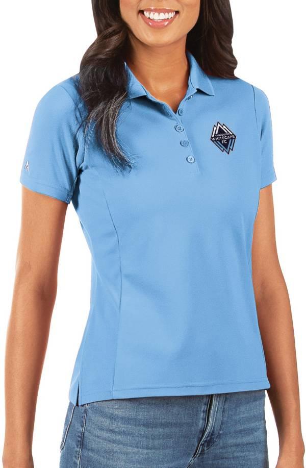 Antigua Women's Vancouver Whitecaps Light Blue Legacy Pique Polo product image