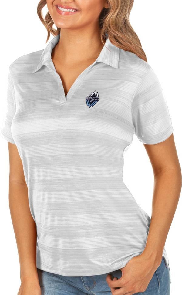 Antigua Women's Vancouver Whitecaps White Compass Polo product image