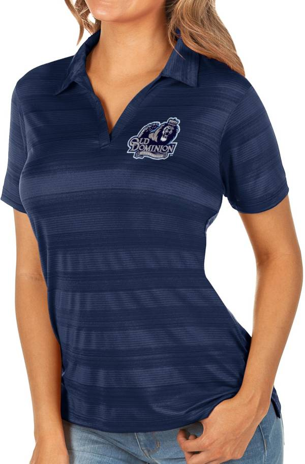 Antigua Women's Old Dominion Monarchs Blue Compass Polo product image