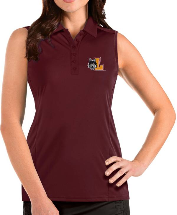 Antigua Women's Loyola-Chicago Ramblers Maroon Tribute Sleeveless Tank Top product image