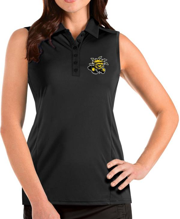 Antigua Women's Wichita State Shockers Tribute Sleeveless Tank Black Top product image