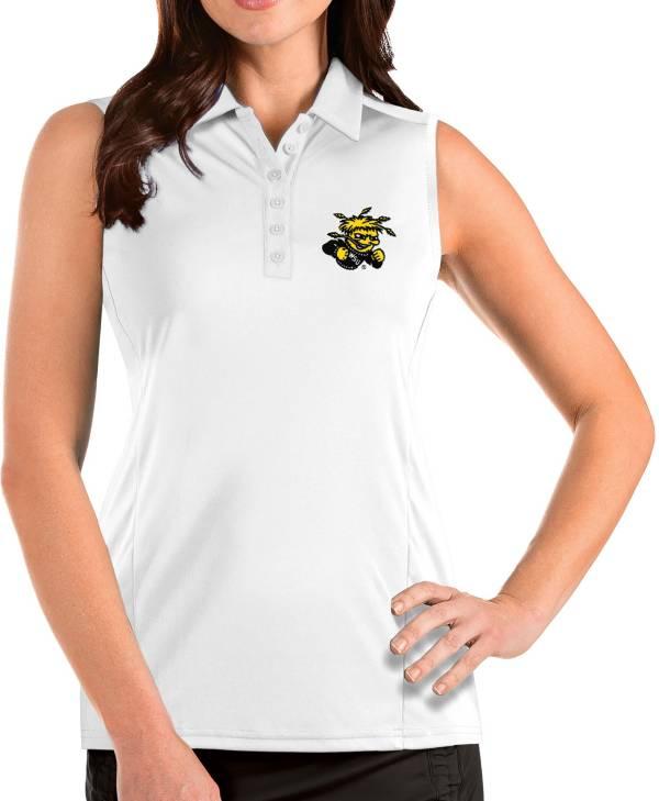 Antigua Women's Wichita State Shockers Tribute Sleeveless Tank White Top product image