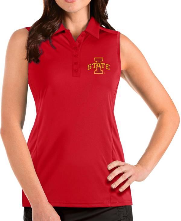 Antigua Women's Iowa State Cyclones Cardinal Tribute Sleeveless Tank Top product image
