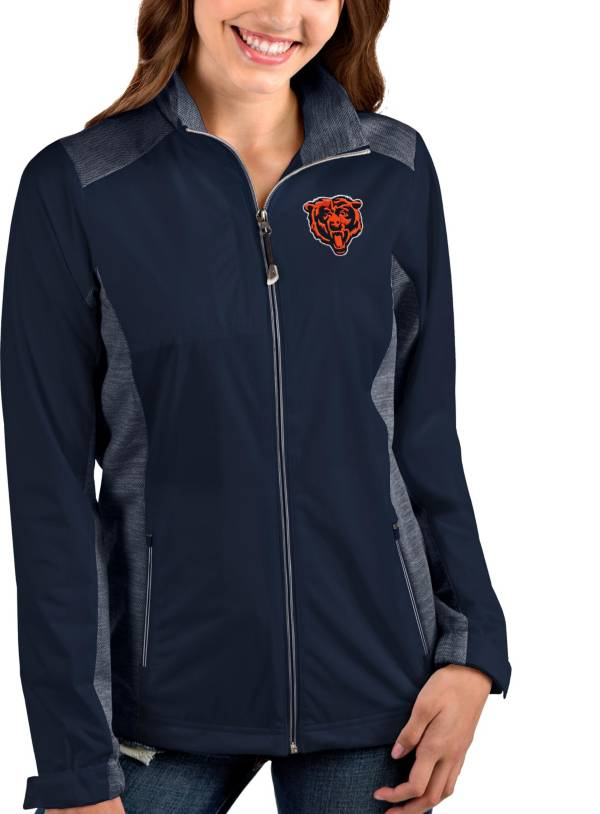 Antigua Women's Chicago Bears Navy Revolve Full-Zip Jacket product image
