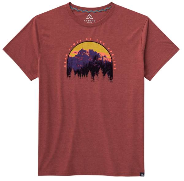 Alpine Design Men's First Mile Made Horizon Short Sleeve Graphic T-Shirt product image