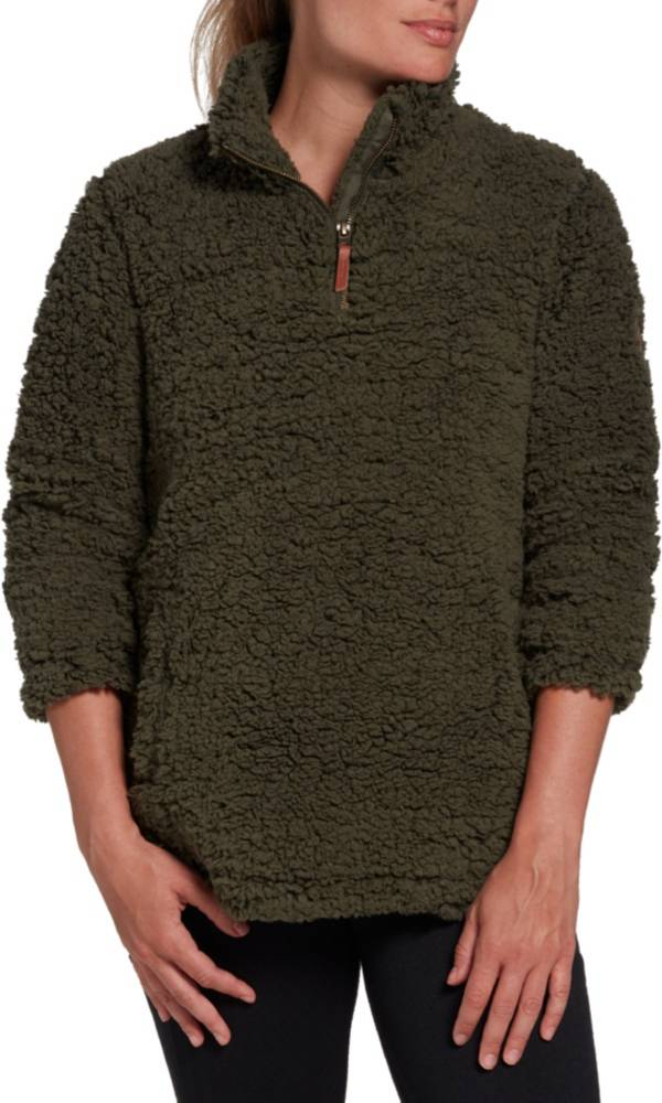 Alpine Design Women's Lowlands Sherpa 1/4 Zip Pullover product image