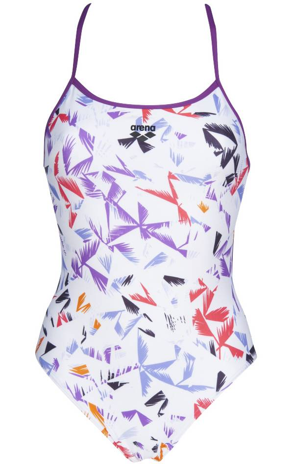 arena Women's Multi Palms Accelerate Back One Piece Swimsuit product image