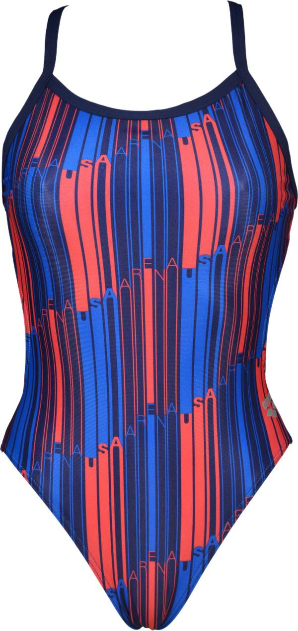 arena Women's USA Challenge Back One Piece Swimsuit product image