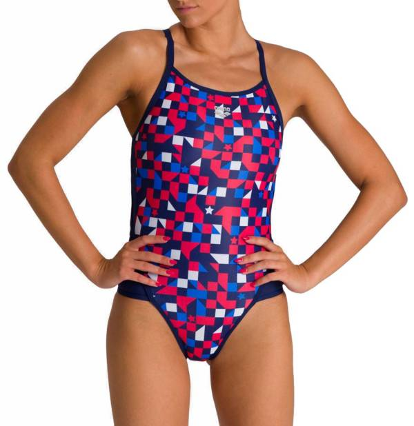 arena Women's USA Superfly Back One Piece Swimsuit product image