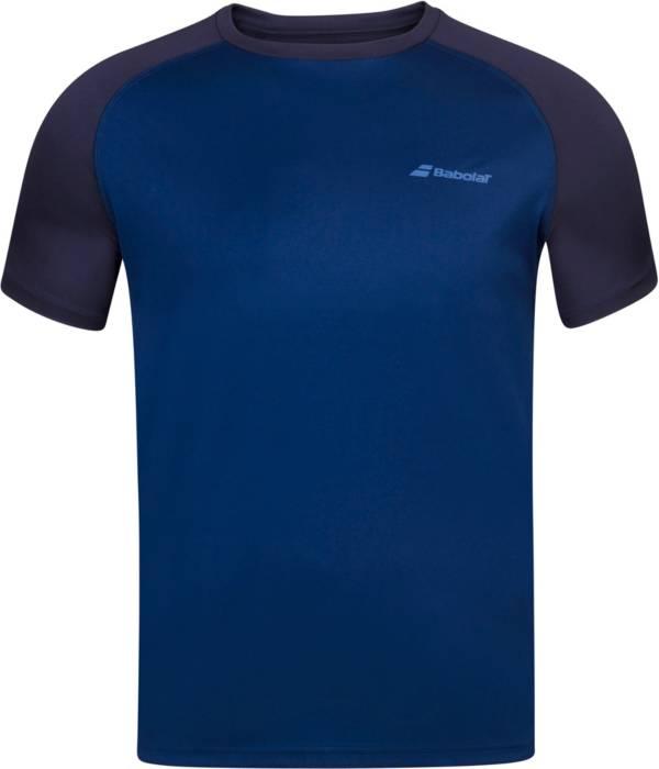 Babolat Boys' Play Crewneck Short Sleeve Tennis T-Shirt product image