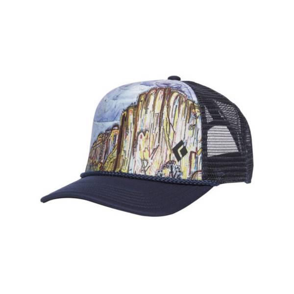 Black Diamond Adult Flat Brim Trucker Hat product image