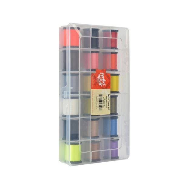 Perfect Hatch Perfect Thread 8/0 18 Spool Assortment product image