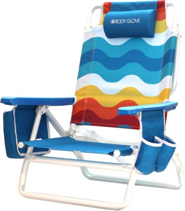 Body Glove 5 Position Recline Beach Chair product image