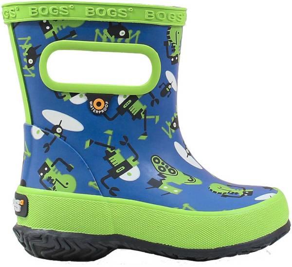 BOGS Boys' Skipper Robots Waterproof Boots product image