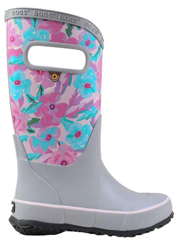 BOGS Girls' Pansies Waterproof Rainboots product image