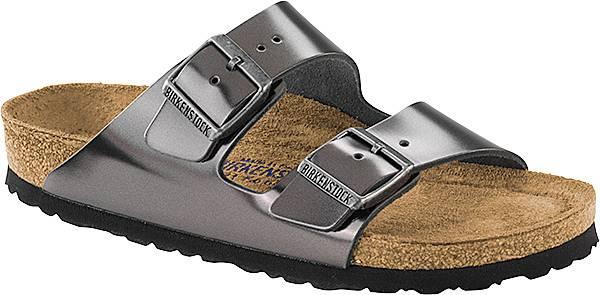 Birkenstock Women's Arizona Soft Footbed Metallic Sandals product image