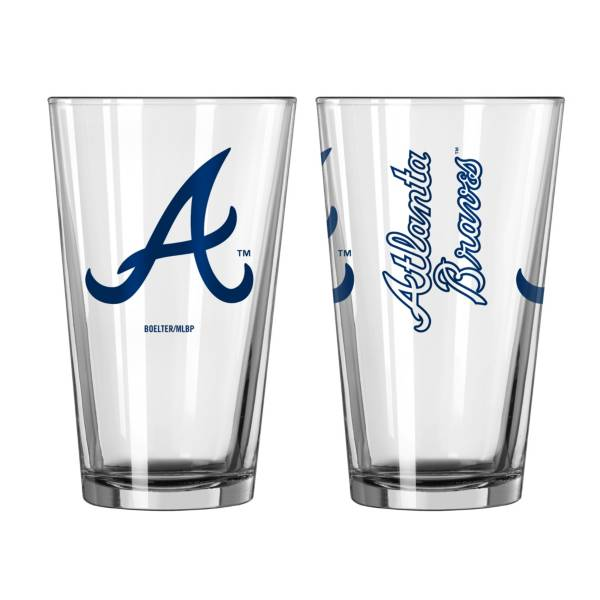 Boelter Atlanta Braves 16oz. Pint Glass product image