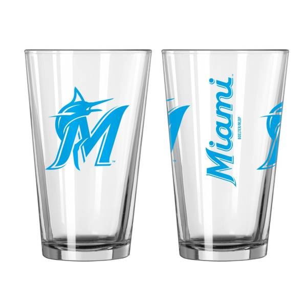 Boelter Miami Marlins 16oz. Pint Glass product image