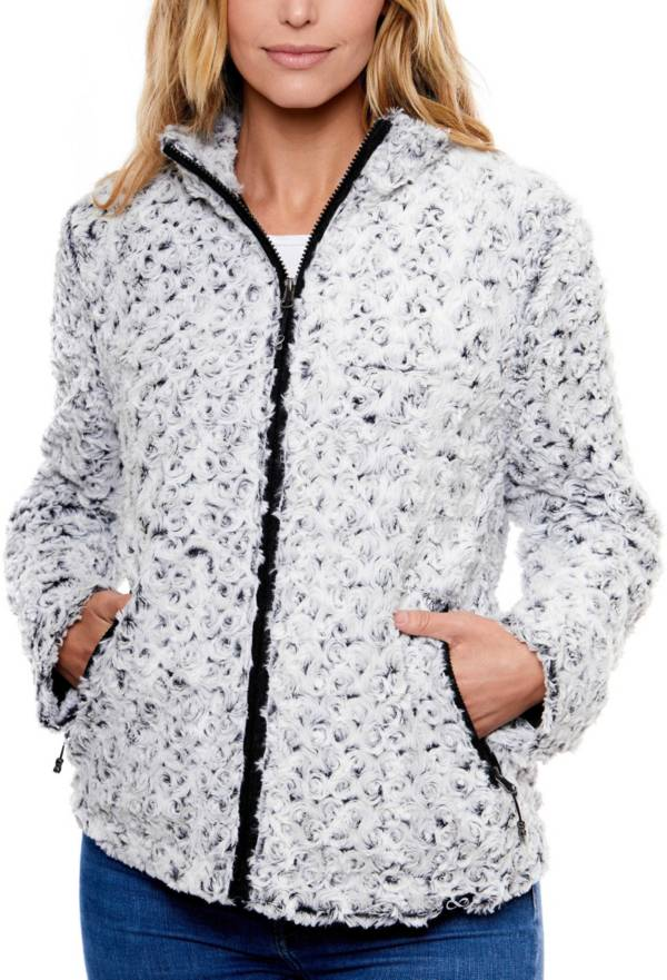 Be Boundless Cozy Vortex Faux Fur Full Zip Jacket product image