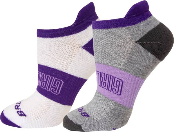 Brooks Women's Ghost Empower Her Collection Midweight Tab Socks - 2 Pack product image