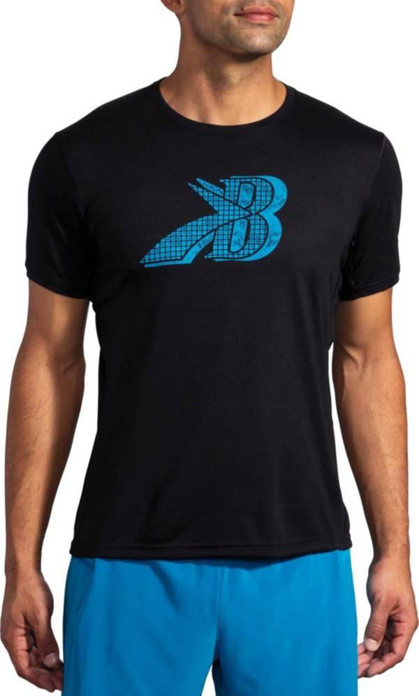 Brooks Men's Distance Run Happy Graphic Short Sleeve T-Shirt product image