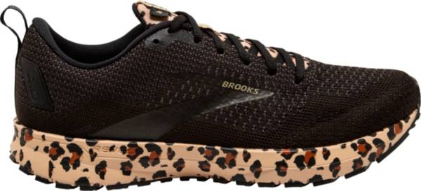 Brooks Women's Revel 4 Leopard Print Running Shoes product image