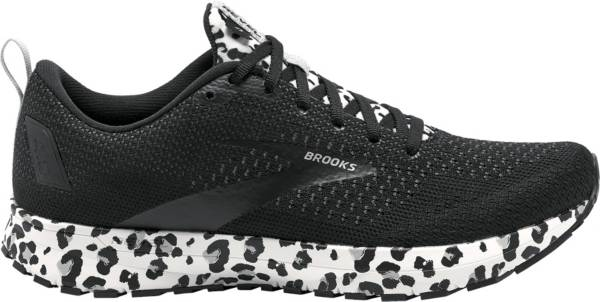 Brooks Women's Revel 4 Snow Leopard Print Running Shoes product image
