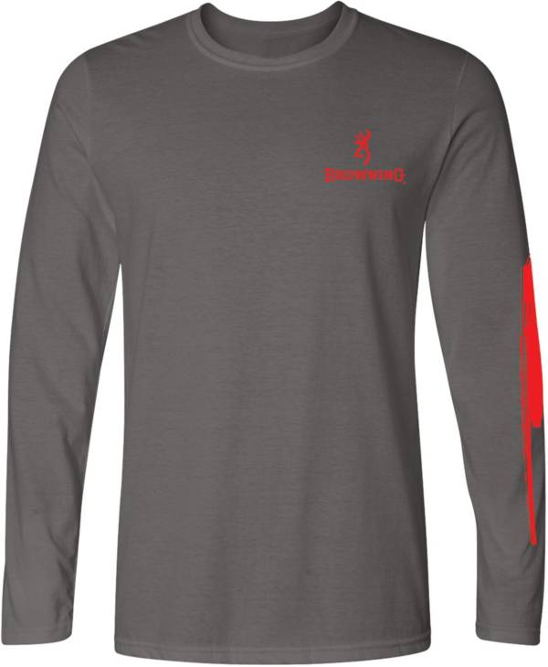 Browning Men's Paint Stroke Flag Long Sleeve T-Shirt product image