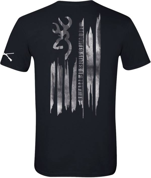 Browning Men's Paint Stroke Flag T-Shirt product image