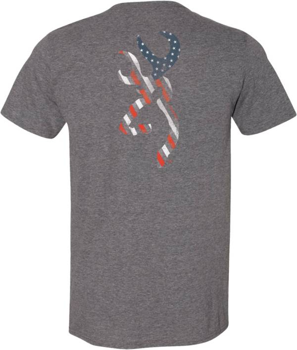 Browning Men's Stars and Stripes Buckmark T-Shirt product image