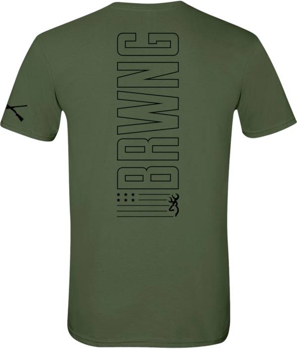 Browning Men's Vertical Short Sleeve T-Shirt product image
