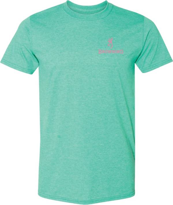 Browning Women's Hunt Square Solid Short Sleeve T-Shirt product image