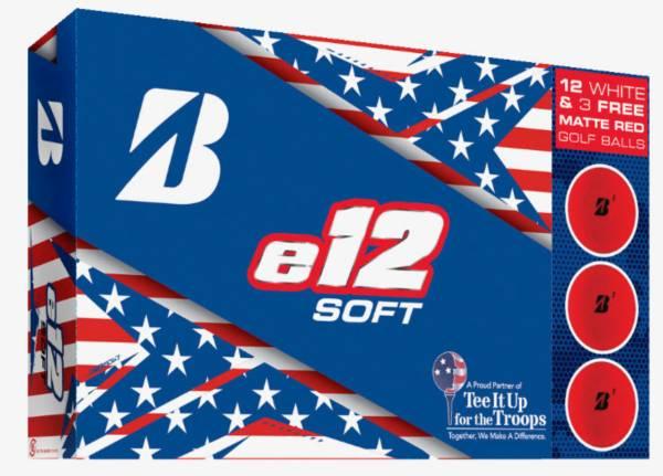 Bridgestone 2019 e12 SOFT Golf Balls Patriot Pack – 15 Pk product image