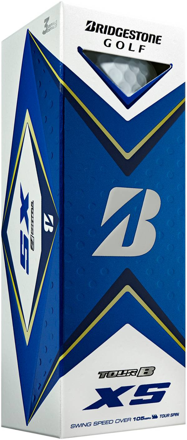 Bridgestone 2020 TOUR B XS Golf Balls – 3 Pack product image