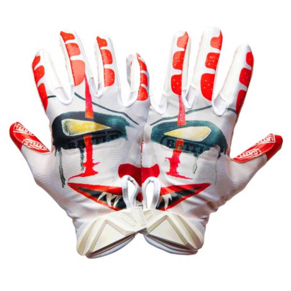 Battle Adult Clown Receiver Gloves product image