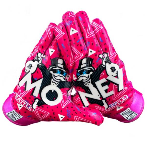 Battle Youth Money Man Receiver Gloves product image